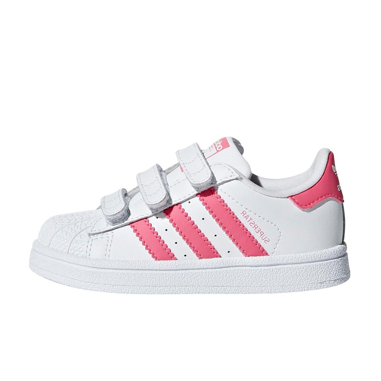 7d400092bad ΠΡΟΙΟΝΤΑ    NEW IN    ADIDAS SUPERSTAR SHOES FTWR WHITE   REAL PINK   REAL  PINK CG6638