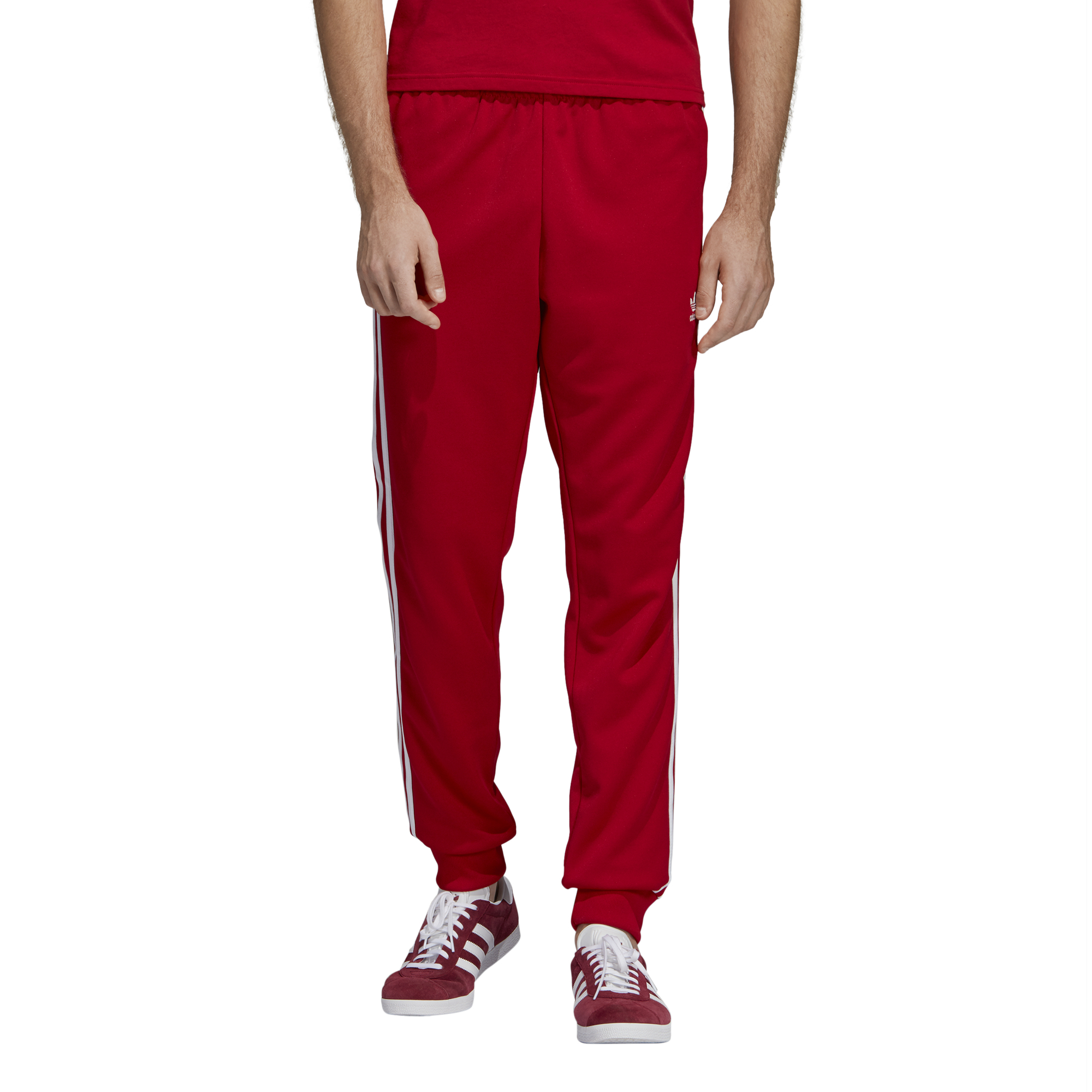 bb7ec455e7e ADIDAS SST TRACK PANTS POWER RED DV1534