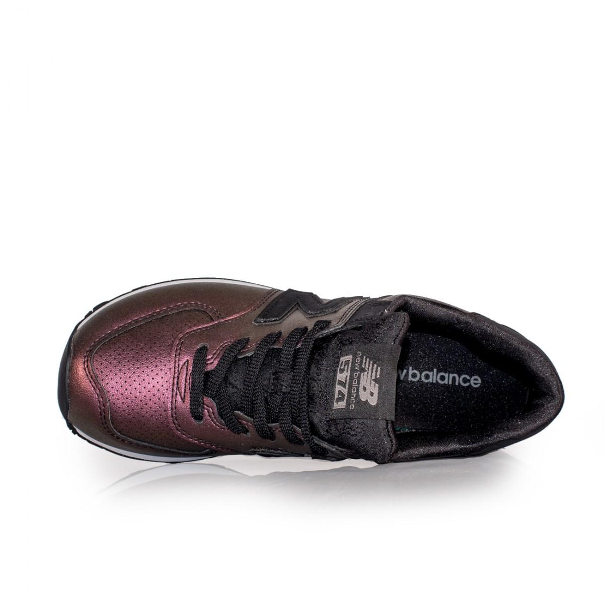 newest 30d7f c2cfb NEW BALANCE DARK SHEEN Style# WL574KSB PURPLE