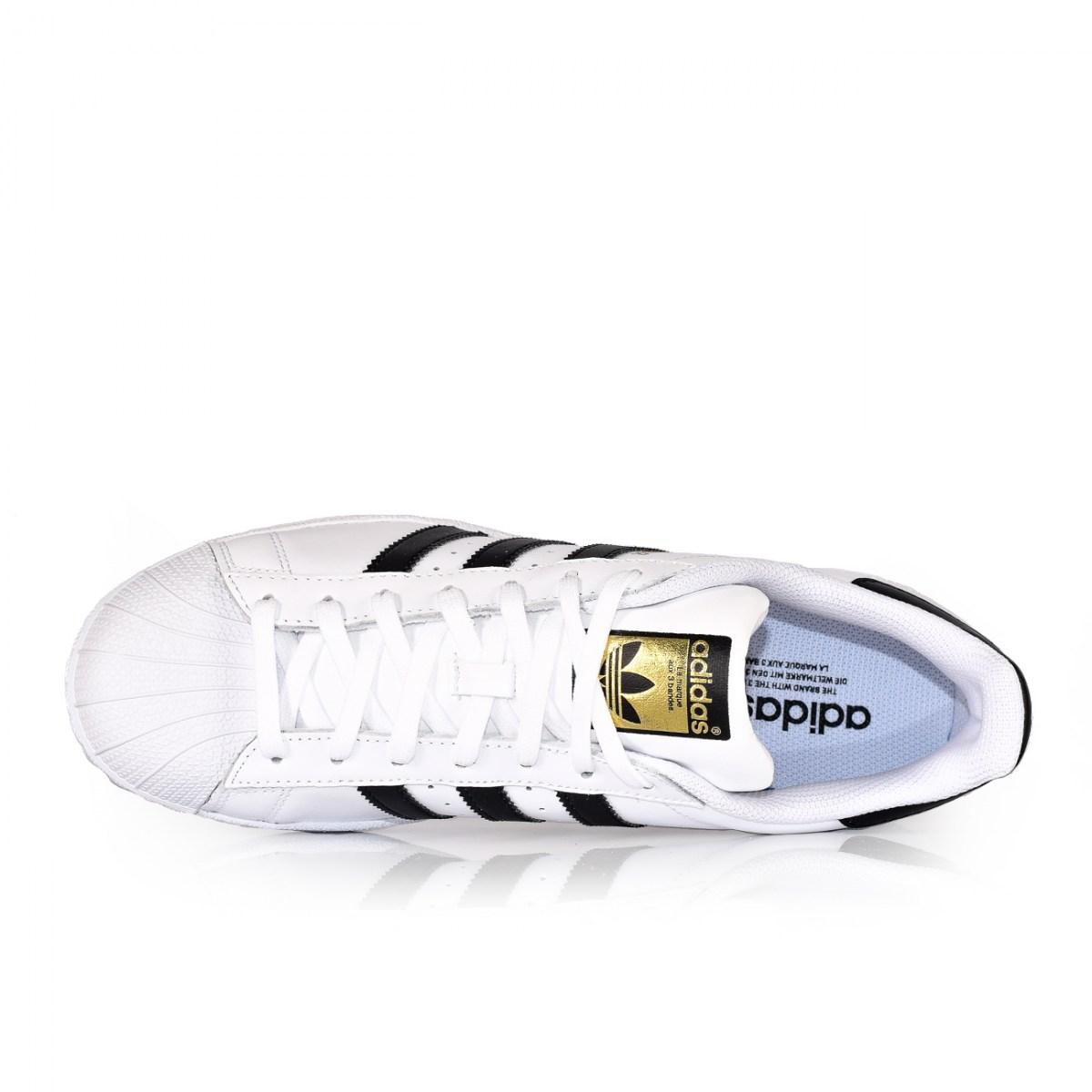 best sneakers 01906 7d8eb ADIDAS SUPERSTAR C77124 WHITE/BLACK