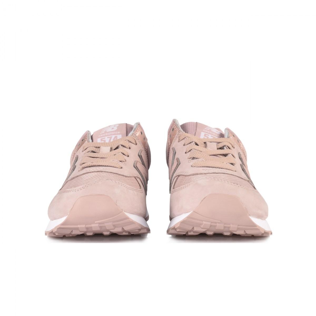 sports shoes 59397 9e402 NEW BALANCE 574 NUBUCK WL574NBM NUDE